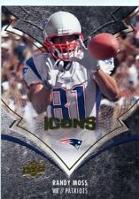 Randy Moss 2008 Upper Deck Icons #59 New England Patriots