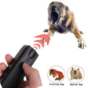 Ultrasonic Aggressive Dog Repeller Stop Barking Banish Pet Training Device Anti