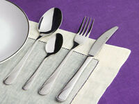 24 Pcs HIGH QUALITY Stylish STAINLESS STEEL Cutlery Set Tableware UTENSILS