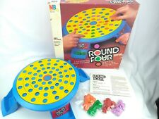 Milton Bradley #4612 Round Four Game - 1986 - Complete in Box