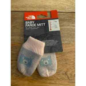 North Face Baby Faroe Mitt Pink XXS