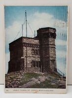 Cabot Tower St. John's Newfoundland Postcard C13