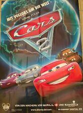 Kino Poster Disney Pixar Cars 2  Neu!
