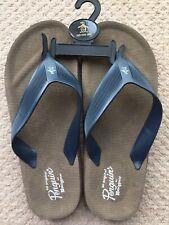 Pequin - Mens Flip Flops Navy Blue - UK Size 9  NEW