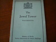 The Jewel Tower 1956 Royal Palace of Westminster London Tourist Sightseeing