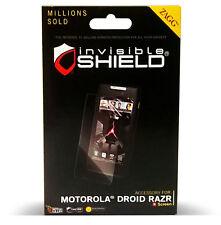 Zagg InvisibleShield for Motorola Droid Razr Screen Protector