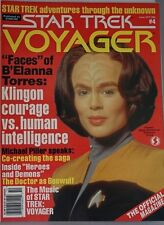 Starlog Star Trek - Voyager. #4 October 1995 Excellent