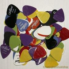 100 NYLON PLECTRUM PICKS MIX FOR ELECTRIC/ACOUSTIC GUITAR/MANDOLIN NEW ASSORTED