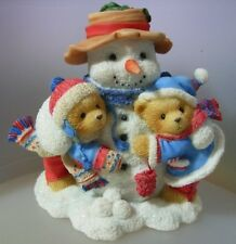 """CHERISHED TEDDIES """"FRANK AND HELEN""""  INTL EXCL 352950-I MINT IN BOX"""