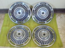 """1964 Chevrolet Hub Caps 14"""" Set of 4 Chevy Chevelle Wheel Covers 64 Hubcaps"""