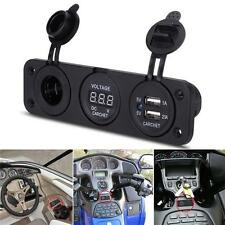 12V Double voiture allume-cigare Socket Splitter USB Adaptateur Prise courant Zp