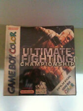 ULTIMATE FIGHTING CHAMPIONSHIP GAMEBOY COLOR GBA NUOVO