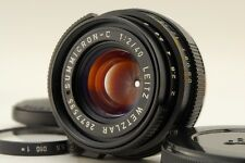 【EXC++++ w/Hood】Leitz Wetzlar Summicron-C 40mm f2 Lens for CL CLE from Japan#679