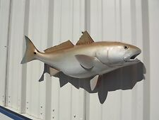 """32"""" Redfish Two Sided Fish Mount Replica"""