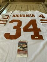 Ricky Williams Autographed Signed Jersey JSA COA Texas Longhorns Heisman