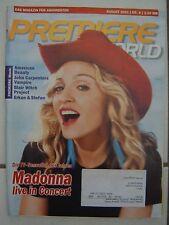 PREMIERE WORLD Magazin August 01 / 2001 Nr. 8 super Zustand