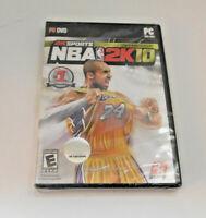 2K Sports NBA 2K10 PC Game Kobe Bryant 10th Anniversary Cover Sealed New