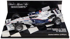 Minichamps BMW Sauber F1. Showcar 2008 - Nick Heidfeld 1/43 Scale