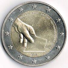 """2 Euro Malta 2011 """"Wahl der 1 Abgeordneten""""  unc. +gekapselt."""