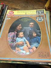 Point de vue images du monde n° 1272 - 8 décembre 1972  Michel et Marina de Grèc