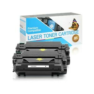 Q7551X / 51X Compatible SO Toner Cartridge for HP M3027 MFP (Black,2 Pack)