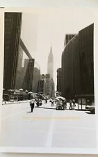 NYC New York City Photo Empire State Building Madison Square Garden 1975 VTG