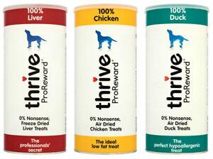 Pet project Thrive ProReward 100% Dog Treats 60g Tube natural pure
