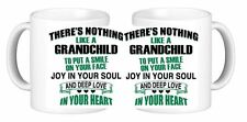 Theres Nothing Like A Grandchild To Put A Smile On Your Face Ceramic Coffee Mug