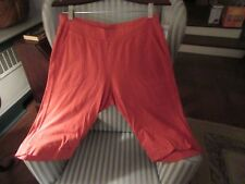 """NWT! FRESH PRODUCE COTTON """"KEY LARGO"""" PETAL PUSHER ON TERRA COT-RELAXED FIT (M)"""