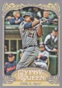 2012 Topps Gypsy Queen #292 Delmon Young Tigers NM-MT