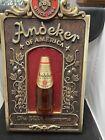 """Vintage 1970's Pabst ANDEKER Beer Sign w 3-D Bottle """"The Supreme Beer"""" Pabst"""