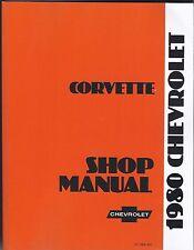Werkstatthandbuch / Shop manual Chevrolet Corvette 1980