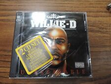 Willie D Unbreakable 2 Cd New Sealed