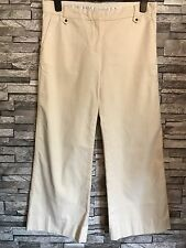 SportMax Women Three Quarter Trousers in Beige Colour ~ Size: UK 14