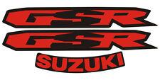 Adesivi Suzuki rosso nero GSR 600 2008- adesivi/adhesives/stickers/decal