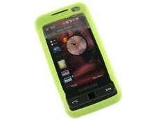 Silicone Durable Green Phone Protector Cover Case For Samsung Omnia i910