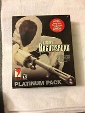 New Rainbow Six Rogue Spear Platinum Pack For PC Video Game 2001 CD Free Ship