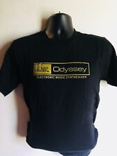 ARP ODYSSEY - GOLD FACEPLATE LOGO - T SHIRT ANALOG SYNTH SYNTHESIZER moog 2600