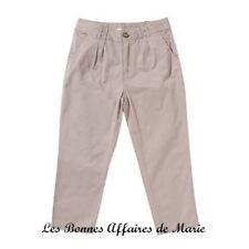 gCARLING - LIQUIDATION - Pantalon basique beige taille ajustable 10A - Neuf