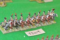 25mm napoleonic / spanish - cavalry 10 figs - (53419)