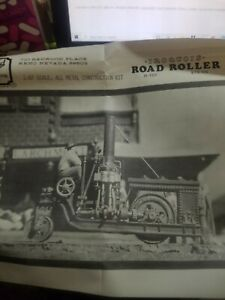 HO, Scale Structures Limited, Kit R-101, Iroquois Road Roller Circa 1920