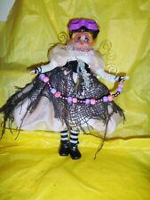 Ooak Steampunk Angele Oxygenee Doll Art 12 inch Heavenly Bodies On Earth