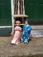 Vintage Blue Boy And Pinky Large Size