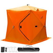 Angelzelt Campingzelt Automatik Schnellaubau Zelt Jagdzelt bundeswehrflecktarn