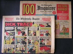 February 13,1944 ~ The Philadelphia Inquirer Complete 16 Page Comic Section