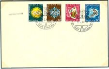 Switzerland Olympic Games St. Moritz 1948 First Day cover with complete set