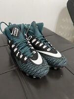Nike Force Savage Elite TD Football Cleat (AJ6605-011) Size 15 Green Colorway