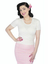 Reproduction Knit Vintage Tops & Shirts for Women