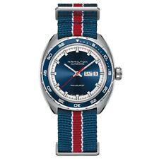 Hamilton Pan Europ automático H35405741 color azul calendario comprar