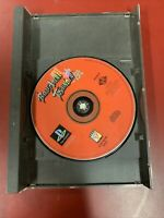 Battle Arena Toshinden Long Box Playstation PS1 Video Game Disc And Backing Only